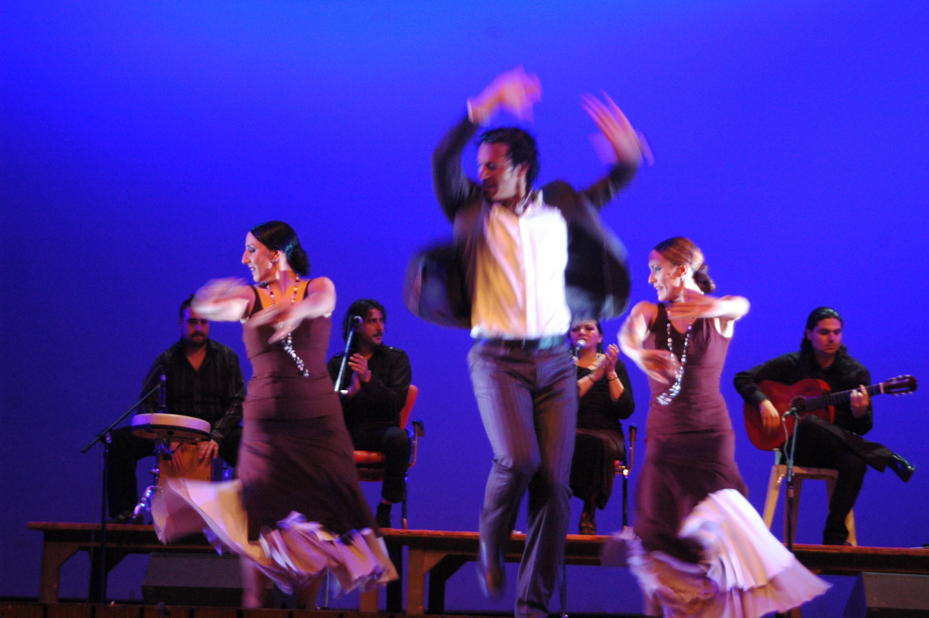 Flamenco, the vibrant dance form from Spain