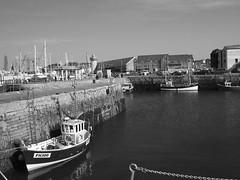 Fishing boats in Falmouth