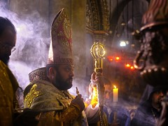 blessing the bishop