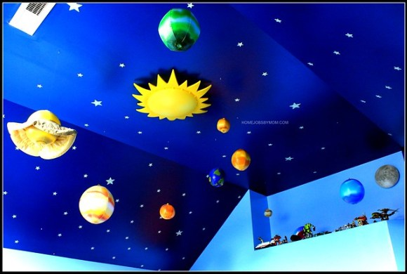 Outer Space Room Ideas