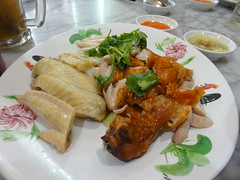 Hainanese Chicken Rice at Swee Kee, Singapore