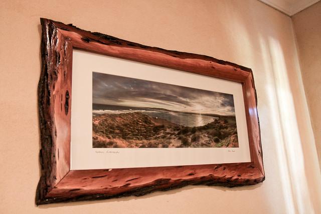 My Kalbarri River mouth photograph framed by kalbarri Picture framer's