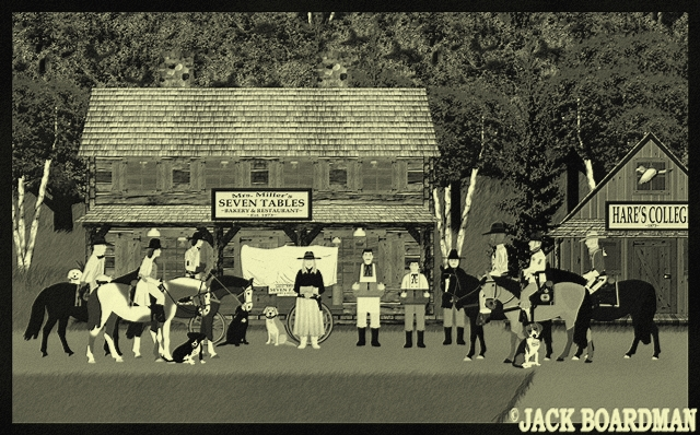 They gathered at Williams' Station ©2012 Jack Boardman