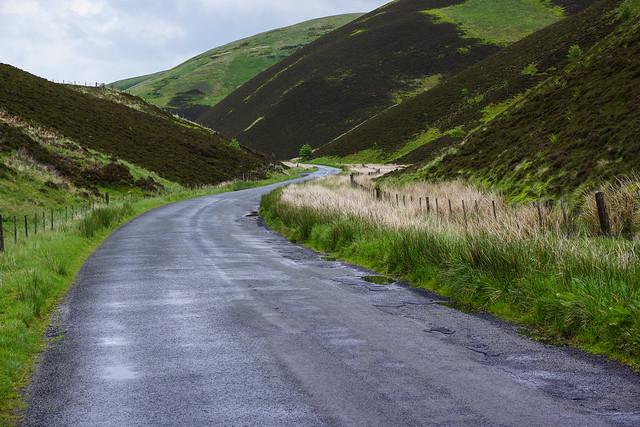 Stunning Scottish roads