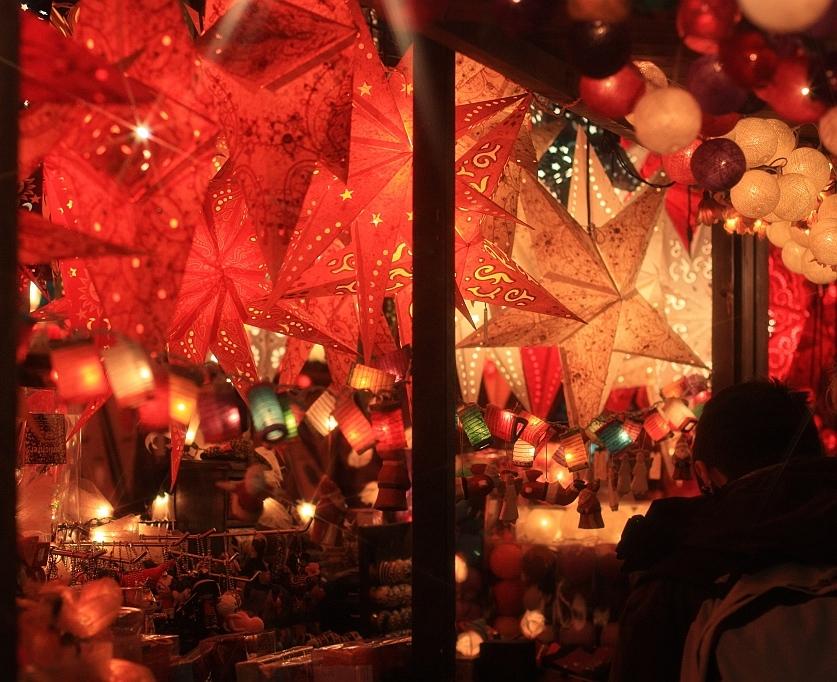 Weihnachtsmarkt, Römerberg, Frankfurt am Main, Germany