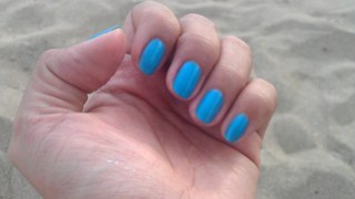 Orly Feel Tge Vibe nails