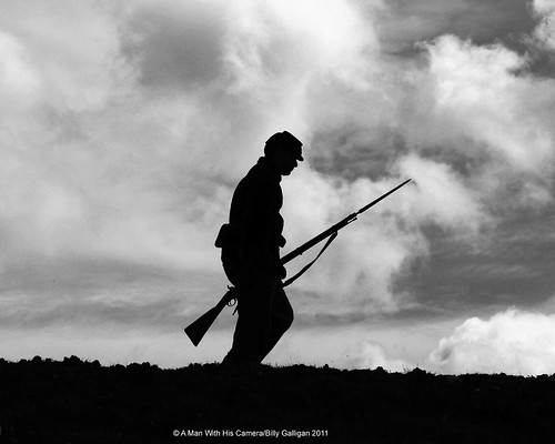 Lonely Soldier by A Man With His Camera