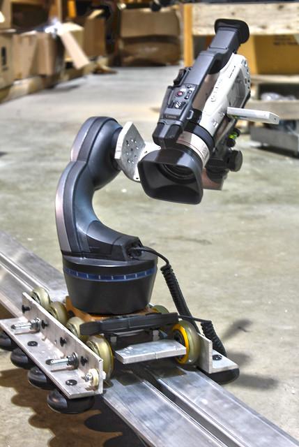 DIY Motorized Pan/Tilt/Dolly HDSLR Video Mount