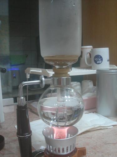 syphon倒入熱水1