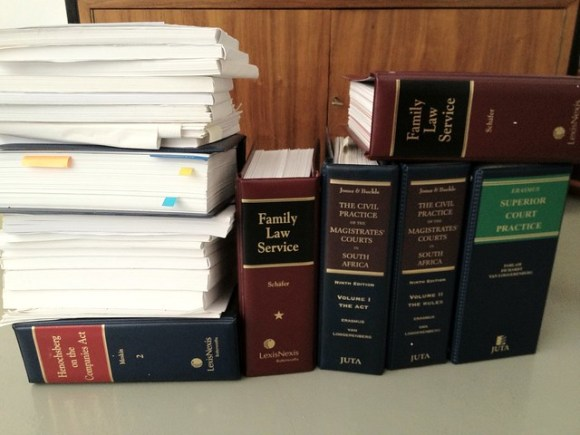 Old SA legal textbooks
