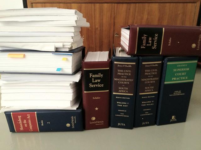 Old SA legal textbooks