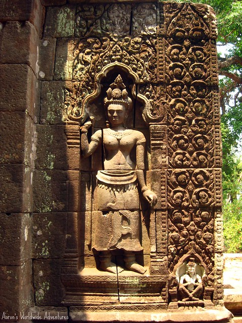 Apsara Carving