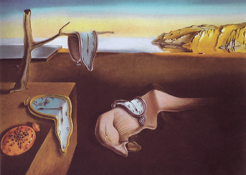 Salvador Dali - The Persistence of Memory at New York Museum of Modern Art