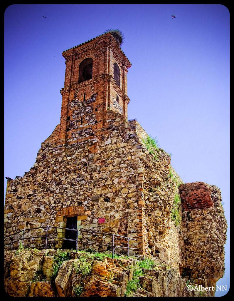Castillo de Retamar en Almadén, por Albert NN