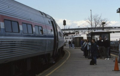 19940417 22 Amtrak Patriot, New London, CT