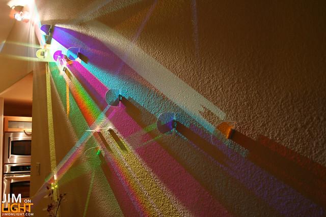 dichroic light art via Rick Hutton