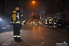 Balkonbrand Bleichstr. 01.01.11