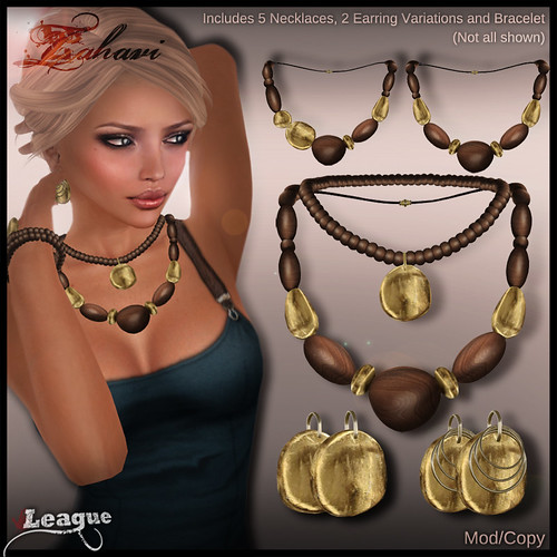 *League* Zahavi Jewellery Set