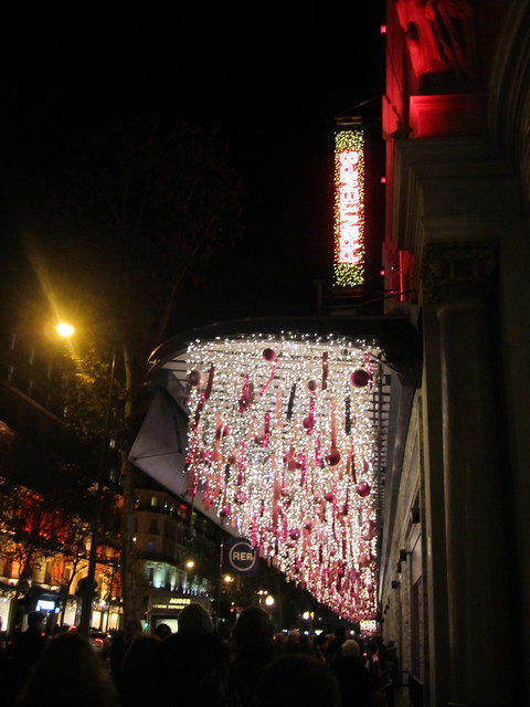 Printemps Lit Up for the Holidays