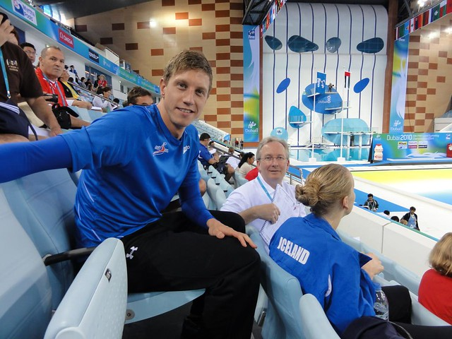 Icelandic friends at the Dubai 2010 World Championships