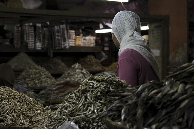 dried fish lady