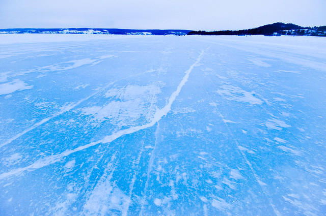Lake surface near Ostersund