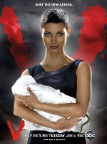 V (2009): Season 2 TV Show Poster, Morena Baccarin