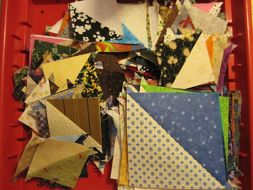 1/2 square triangles from exchanges