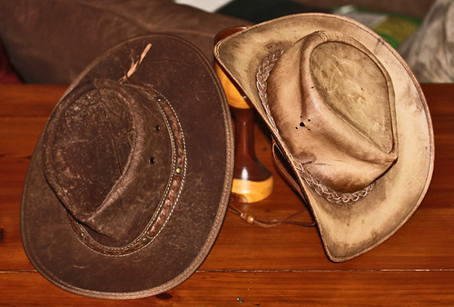 Two Leather Hats