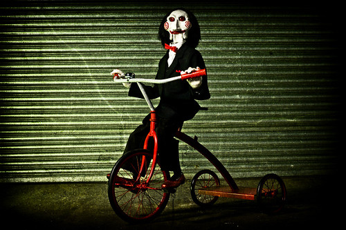 Billy the puppet from Saw