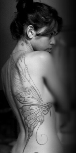 tattoo butterfly juliana gaião