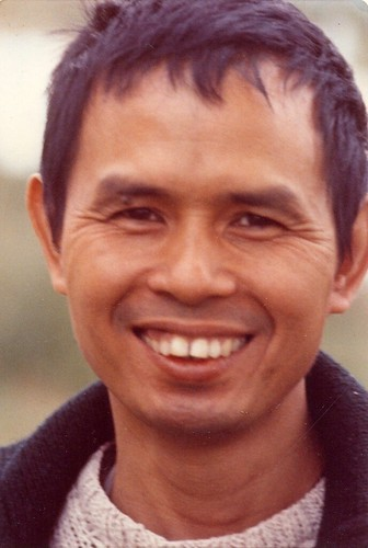 Thich Nhat Hanh 1974 Paris (Jim Forest)