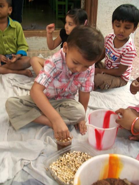 Planting grains