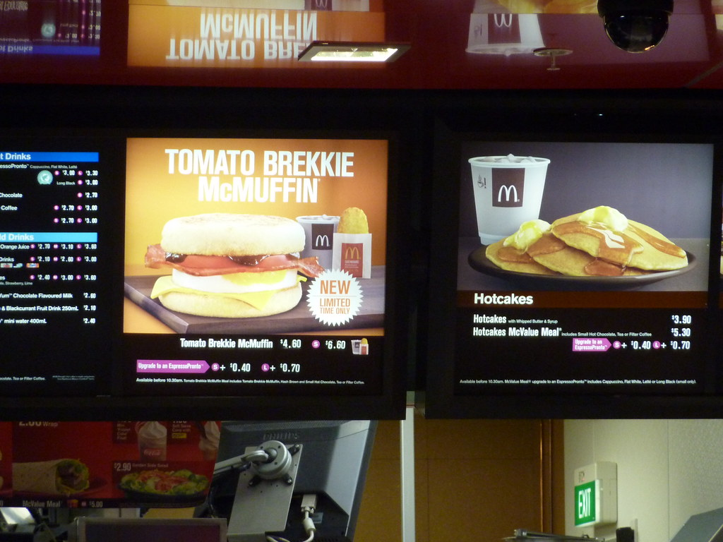 mcdonalds new zealand menu