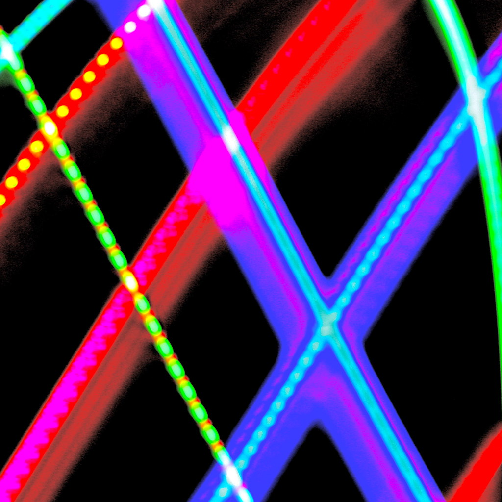 Xmas light paintings
