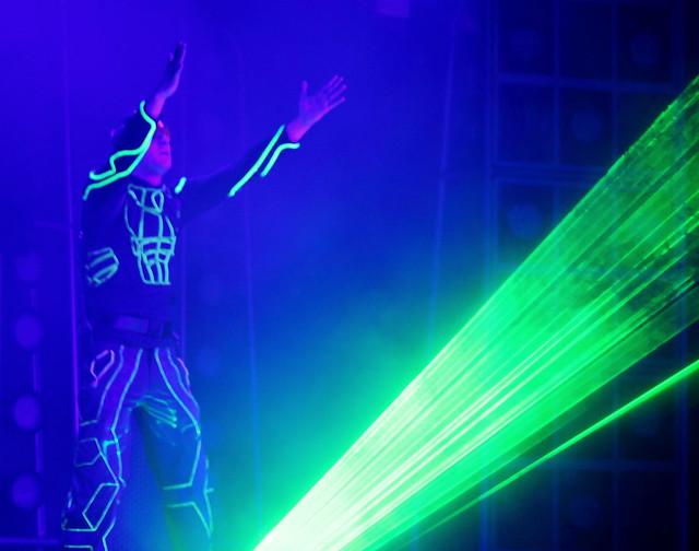 Laser Man Monday...