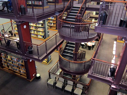 1744 Cape Town public library interior