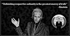 Julian Assange by Jack Zeitgeist