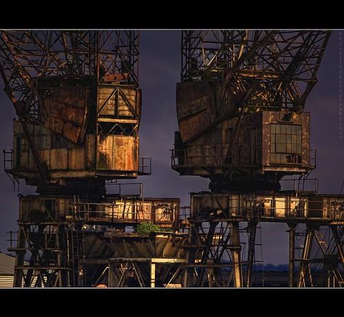 Mighty Battersea Cranes