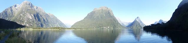 Milford Sound panorama