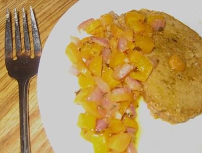 Meal prepared by Duchess Susanna