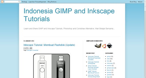 Indonesia GIMP and Inkscape Tutorials
