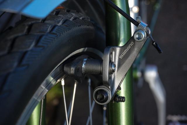 Ridgeback Expedition: brakes
