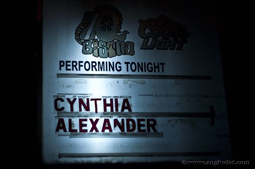 Cynthia Alexander Send Off Gig at 70s Bistro