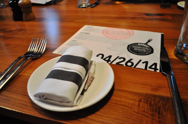 Dining at The River and Rail Restaurant, Roanoke, Va., April 2014 #OldSchoolVA #LoveVA