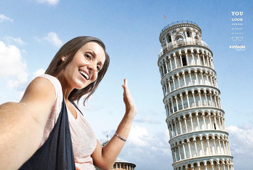 + Vision - Fail Selfies Pisa