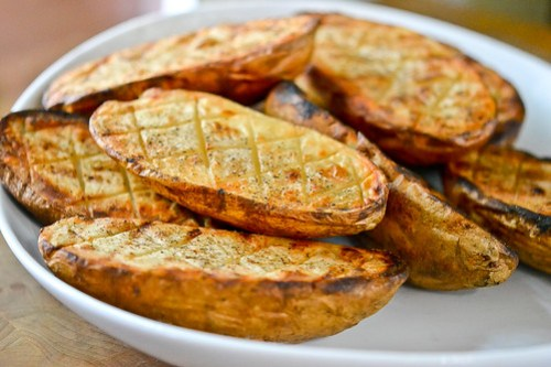Grilled Criss-Cross Potatoes-7