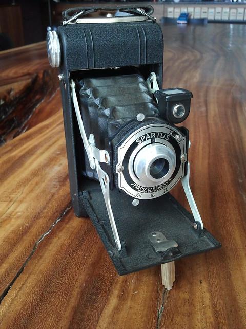 Spartus Folding Camera