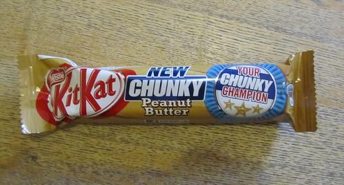 Kit Kat Chunky Peanut Butter (UK)