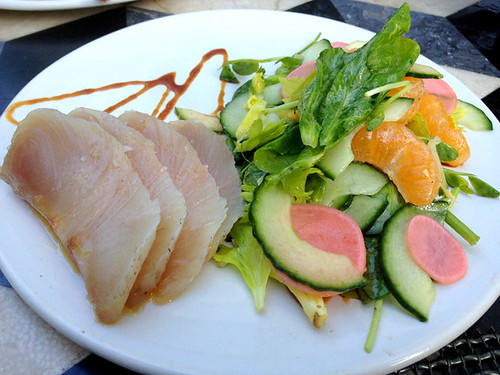 Cured Hamachi at Whist